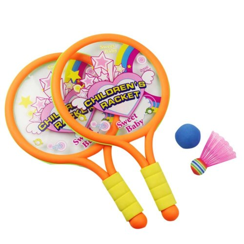Badminton Racket Children Tennis Racket Toys Baby Fitness Outdoor Sports