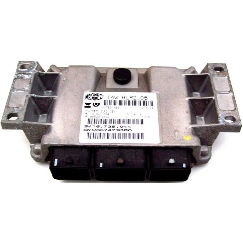 Citroen C4 Vt 16V Manual Engine ECU 9653979480 9657429380 IAW6LP2.05