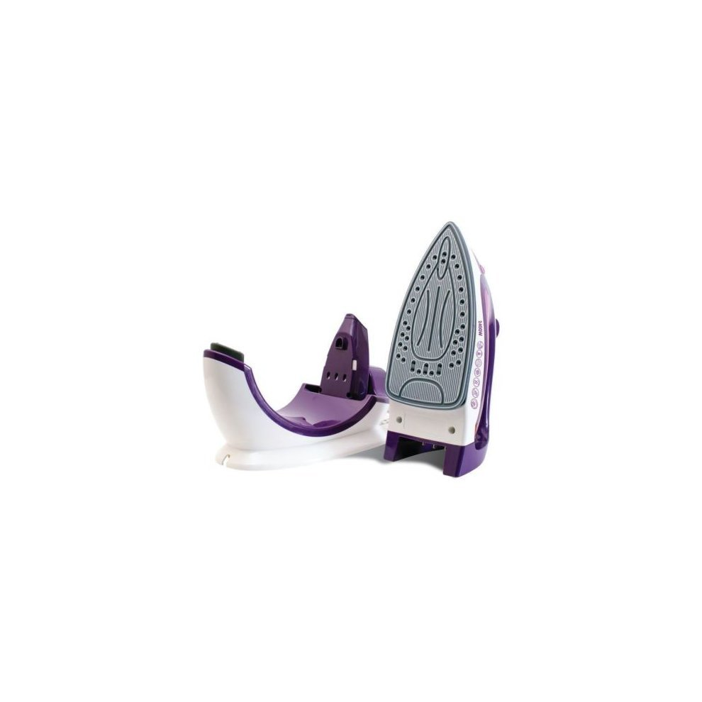 steam iron with stand