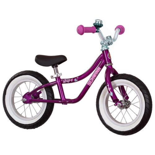 "Schwinn 12"" (30.5 cm) Skip 4 Balance Bike in Purple (3+ Years)"