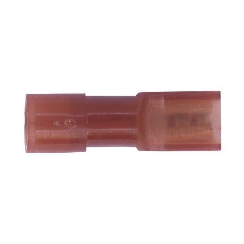 Sealey RT28 Fully Insulated Terminal 2.8mm Female Red Pack of 100