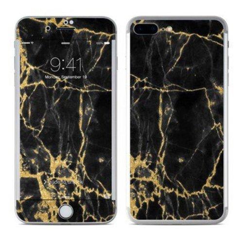 DecalGirl AIP8P-BLACKGOLD Apple iPhone 8 Plus Skin - Black Gold Marble