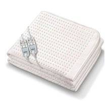 Monogram By Beurer Luxurious Dual Heated Electric Super King Mattress Cover