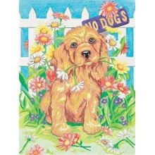 Dpw91213 - Paintsworks Pencil by Numbers - Naughty Puppy
