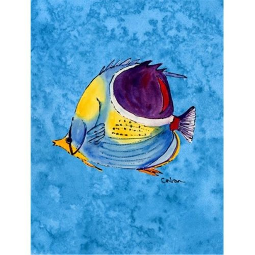 Carolines Treasures 8676GF Fish Tropical Flag - Garden Size, 11 x 15 in.