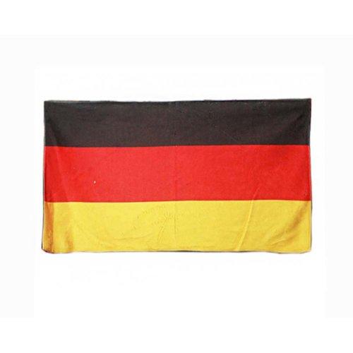 "Luxury Fiber Bath Towel 55"" x 27.5"" Large Towel  for Beach Sport, Germany Flag Pattern"