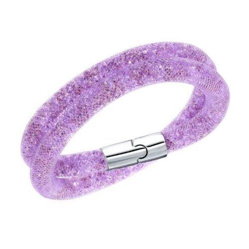 Swarovski Stardust Mauve Double Bracelet Small - 5140103