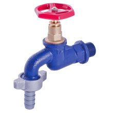 Resistant Cast Iron Garden Outdoor Tap Valve With Hose Adapter