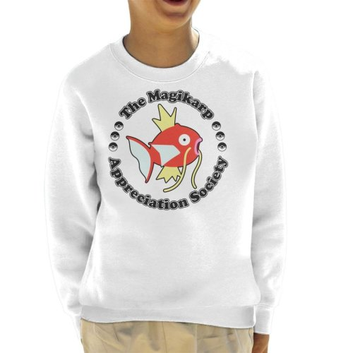 Pokemon Magikarp Appreciation Society Kid's Sweatshirt
