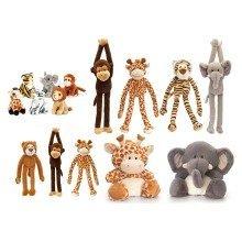 Wildlife Soft Toy Tombola Game - Half Set
