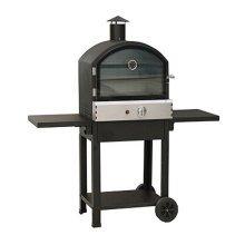 Taranto Gas Pizza Oven in Black