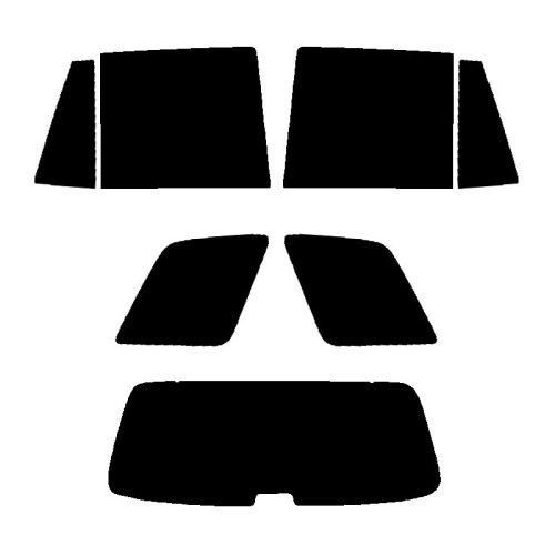 Pre cut window tint - Hyundai Santa Fe - 2001 to 2003 - Rear windows
