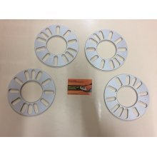 WHEEL SPACERS 5MM 4 AND 5 STUD UNIVERSAL FIT