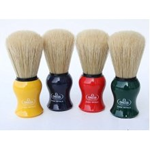 Omega 10065 Boar Bristle Shaving Brush, Assorted Colors