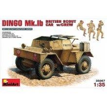 Min35067 - Miniart 1:35 - Dingo Mk 1b British Armoured Car W/ Crew