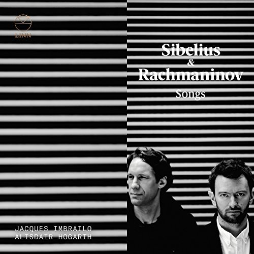 Jacques Imbrailo;Alisdair Hogarth - Sibelius and Rachmaninov: Songs [CD]