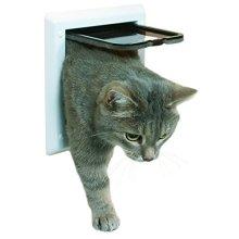 Trixie 38601 2-way Cat Flap White - Door 21 2way 2wege Onewaycm Magnetic -  trixie white cat flap door 21 38601 2way 2wege oneway cm magnetic