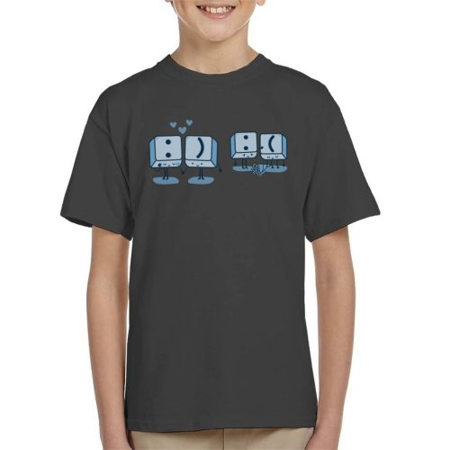 Keyboard Keys Emoji Kid's T-Shirt