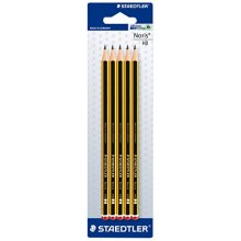 Staedtler 120-2 Bk5D Noris Pencil HB Blister - Pack of 5