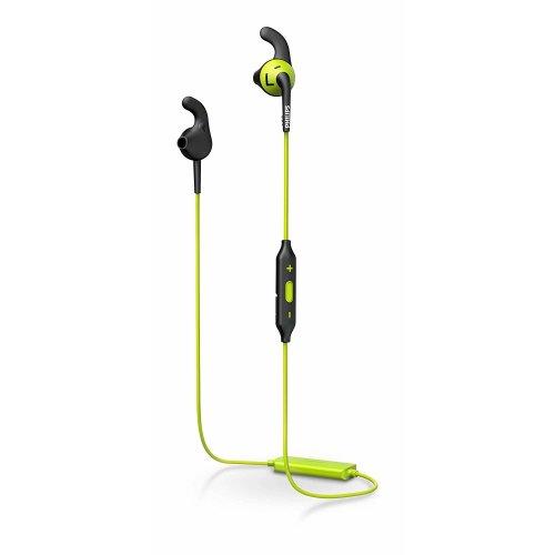 Philips SHQ6500CL Bluetooth Sports Headphone with Mic Green/Black