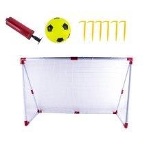 deAO Kids Football / Soccer Goal Set with Target Sheet