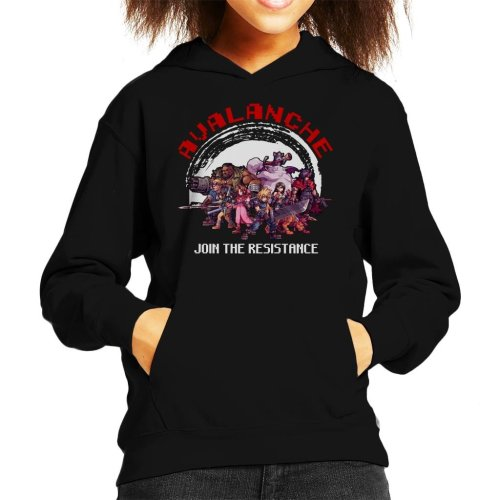Avalanche Join The Resistance Final Fantasy VII Kid's Hooded Sweatshirt