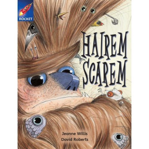 Rigby Star Independent Year 2 White Fiction: Hairem Scarem Single: White Level Fiction