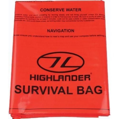 Highlander Bivi Bag - Orange