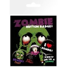 Zombies Badge Pack