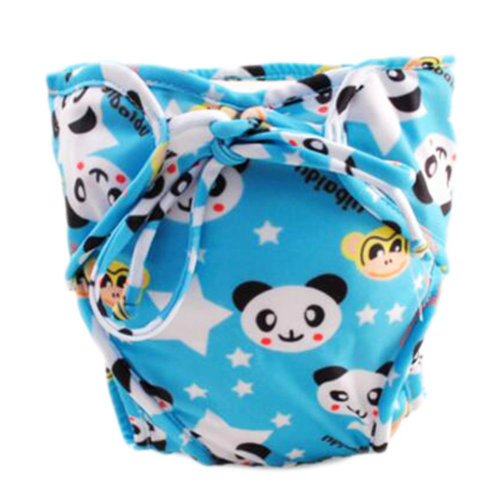 Reusable Swim Diaper Adjustable Absorbent Shower Diapers for Baby Toddler, A17
