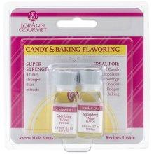 Candy & Baking Flavoring .125oz 2/Pkg-Sparkling Wine
