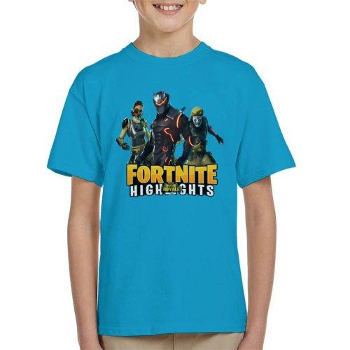 Fortnite Battle Royale Omega And Co Kid's T-Shirt