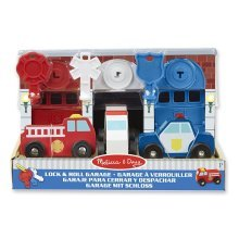 Melissa And Doug Keys & Cars Rescue Garage Wooden Toy
