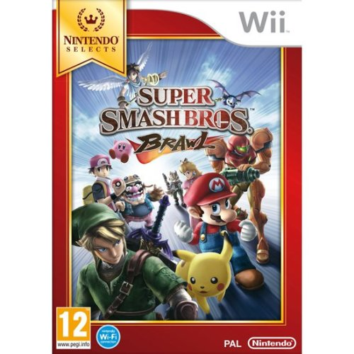 Super Smash Bros Brawl Nintendo Selects Wii