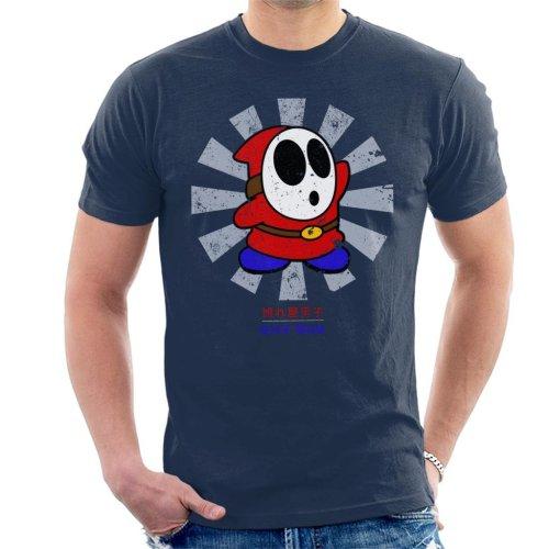 Shy Guy Retro Japanese Mario Men's T-Shirt