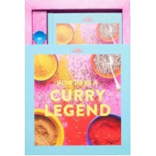 The Spicery Curry Legend Cookbook Kit | Gift Box For Curry-Lovers