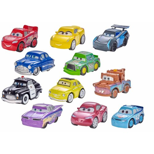 Disney Pixar Cars 3 Mini Racers Assortment, Metal Toy Cars, Blind Bag