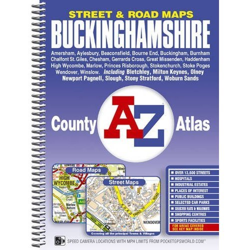 Buckinghamshire County Atlas (A-Z Street Maps & Atlases)