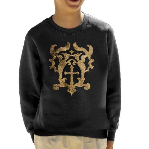 Castlevania Belmont Crest Kid's Sweatshirt