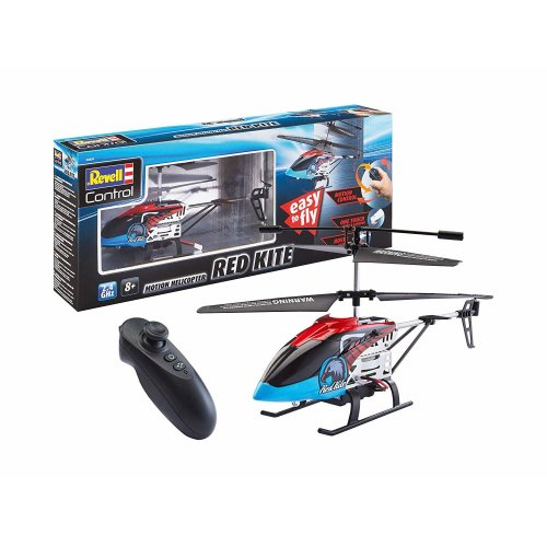 Revell Control 23834 RC Motion Control Helicopter Kite, Red