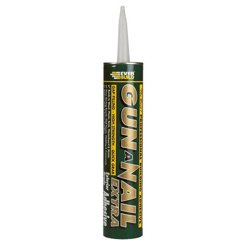 Everbuild Gun A Nail Extra High Strength Gap Filling Adhesive C3 Tube