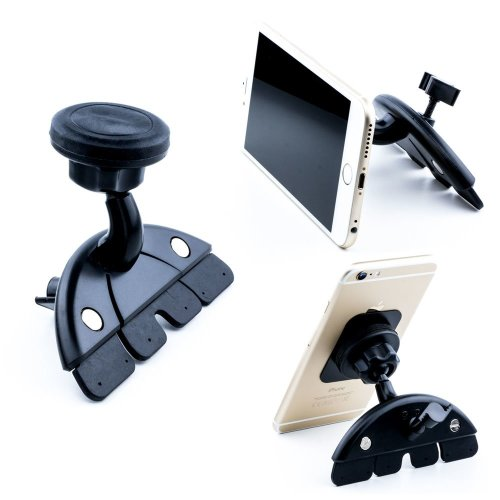 Car CD Slot Phone Holder | Universal Magnetic Phone & Tablet Mount