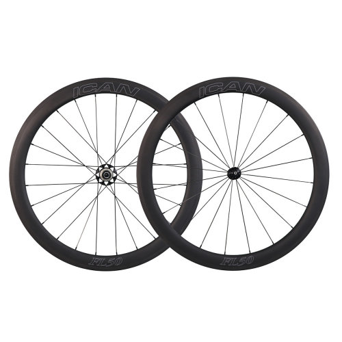 ICAN FL50 Wheelset with 2:1 Spokes