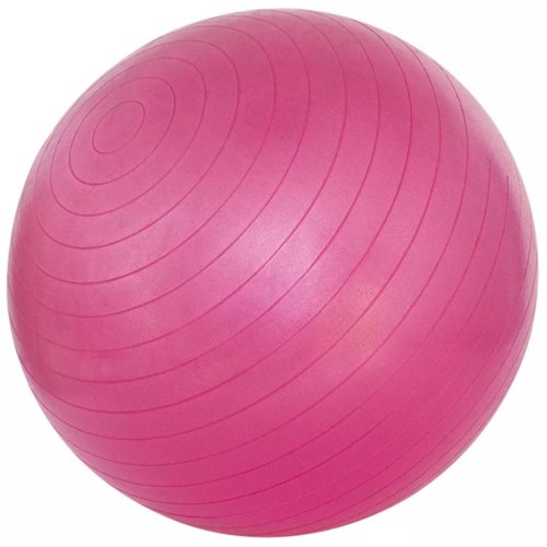 Avento Fitness Ball 55cm Pink Home Sport Gym Fit Yoga Core Exercise Equipment
