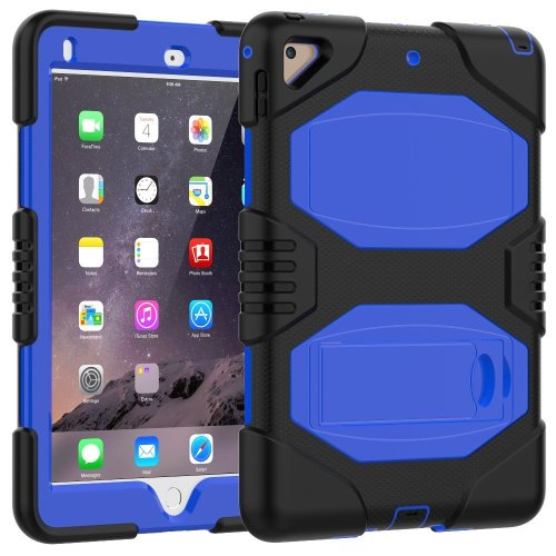 best service 77ac7 d2aa0 iPad Case 9.7 Inch 2018/2017,Slim Heavy Duty Shockproof Rugged Case Hard  PC+Silicone Hybrid High Impact Full Body Protective Case for Apple iPad...