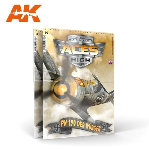 AKBOOK2921 - Aces High Magazine - Fw 190 Der Wurger