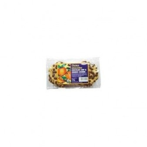 BIONA - Organic Chocolate Chip + Orange Cookies