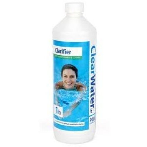 1ltr Clear Water Clarifier - Clear Pool 1 Spa Litre Hot Tub Chemicals Swimming -  clearwater clarifier pool 1 spa litre hot tub chemicals swimming