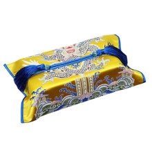 Delicate Tassel Home Car Decor Brocade Tissue Paper Holders Tissue Cover, #16