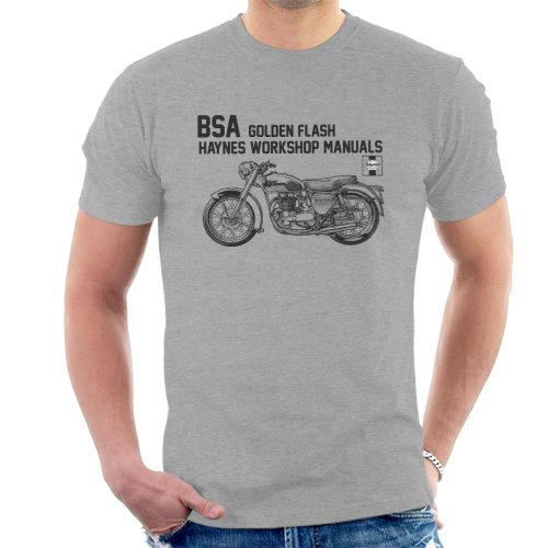 Haynes Owners Workshop Manual BSA A10 650 Golden Flash Men's T-Shirt